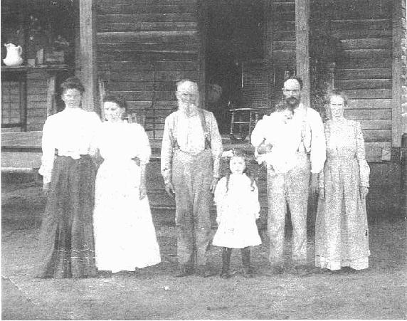 Unknown family...possibly Lanier's?